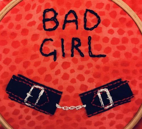 Bad girl cuffs