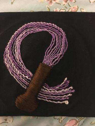 Purple flogger